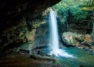 Cucumber Falls at Ohiopyle State Park