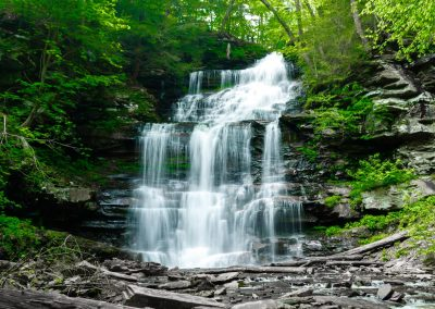 Ganoga Falls in Ricketts Glen State Park