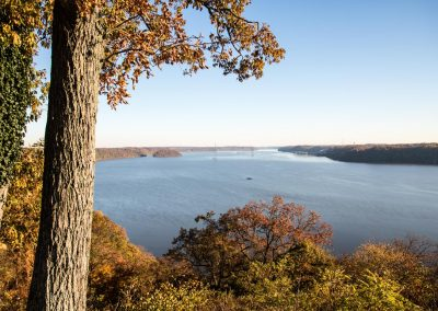 Hawk Point Overlook at the Susquehanna River in York County, PA