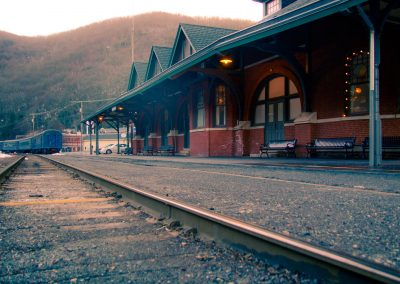 Train Station in Jim Thorpe, PA