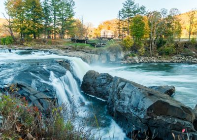 Ohiopyle Falls from Ferncliff