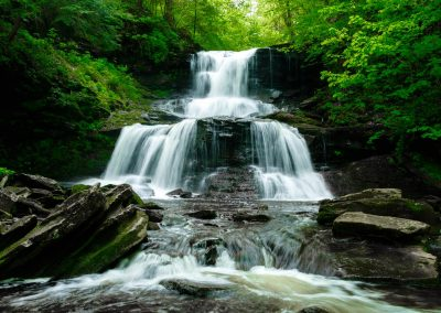 Tuscarora Falls at Ricketts Glen State Park