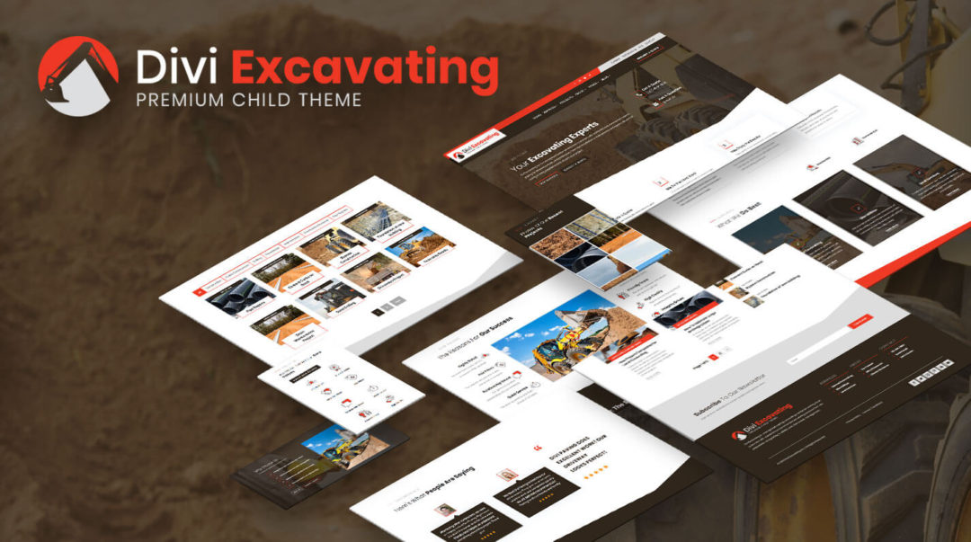 Divi Excavating Child Theme by Pee-Aye Creative