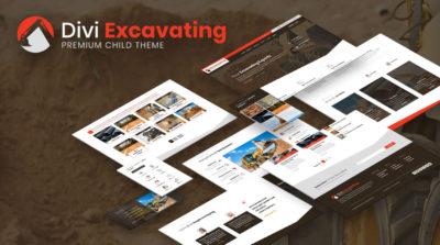 Divi Excavating Child Theme by Pee-Aye Creative