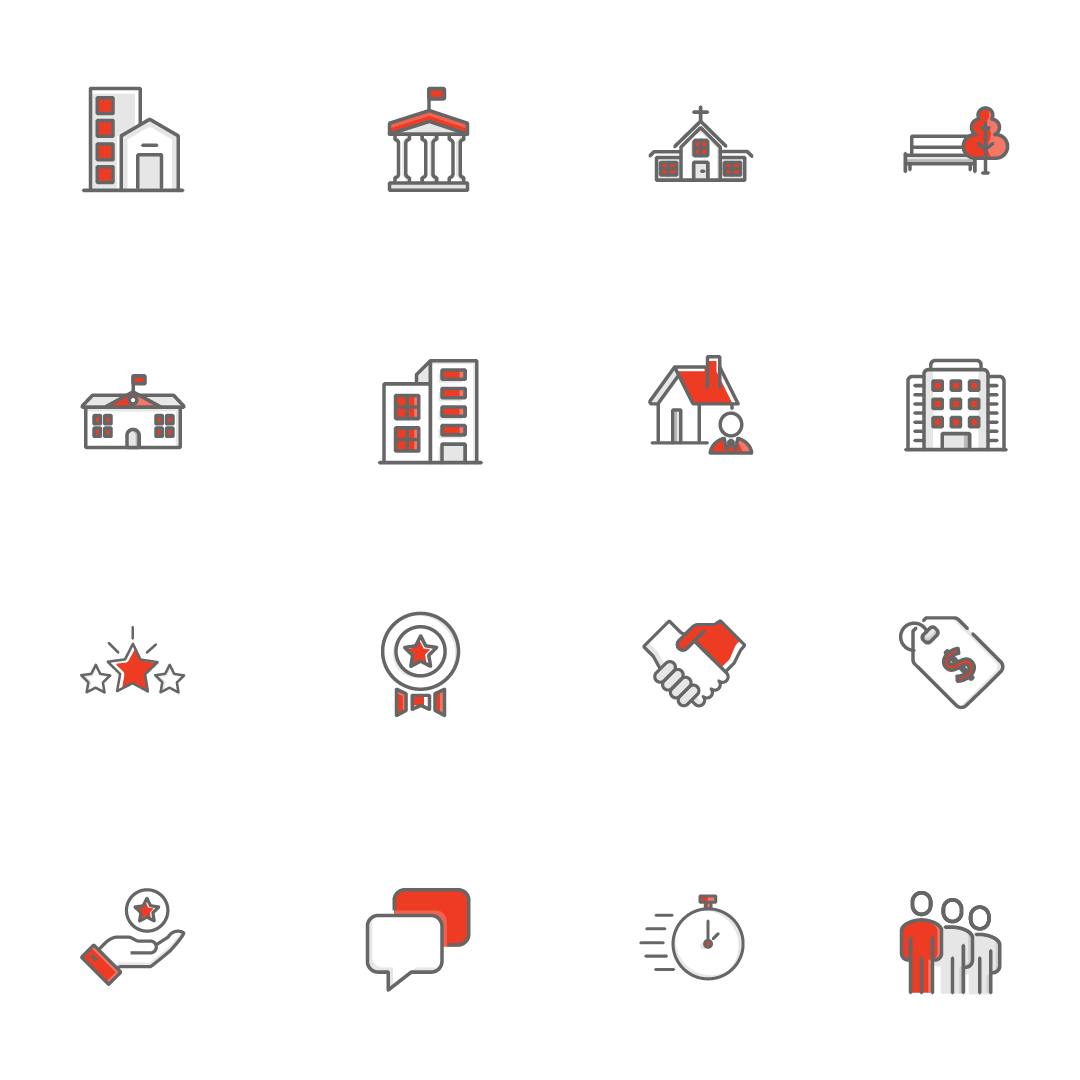 Divi Excavating Custom Icons