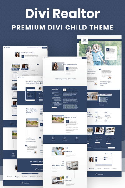 Divi Realtor Child Theme by Pee-Aye Creative