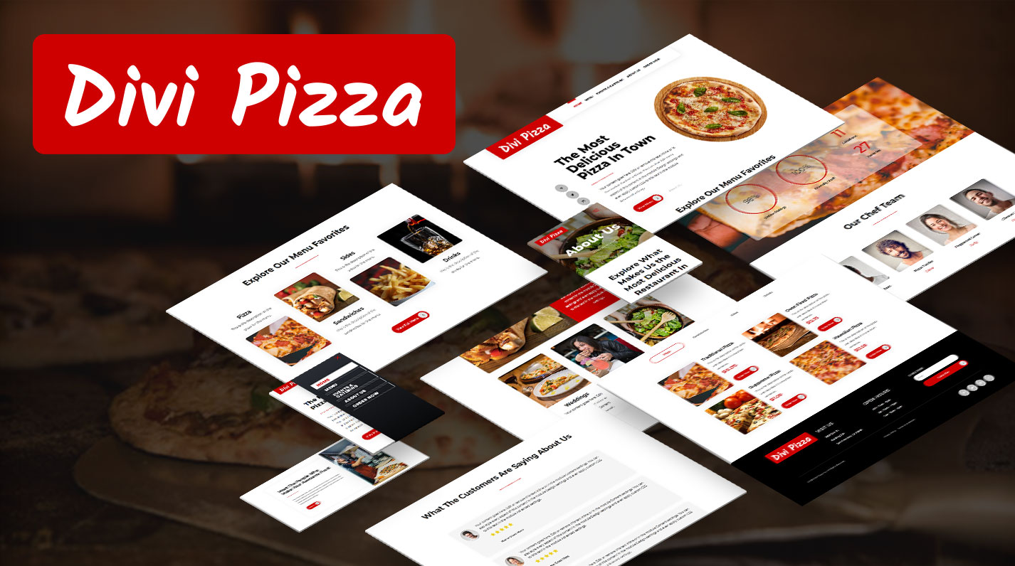 Divi Pizza Child Theme by Pee-Aye Creative