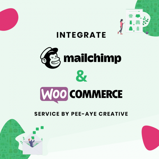 Integrate Mailchimp and WooCommerce pro service by Pee-Aye Creative