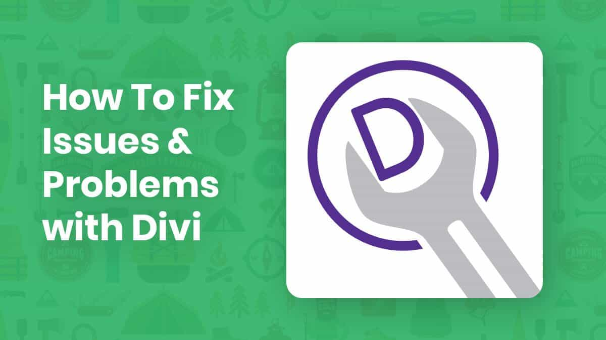 How To Fix Issues and Problems With Divi Theme or Builder