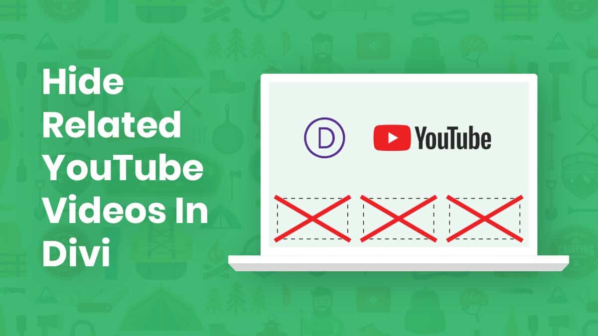 How To Hide Related YouTube Videos In Divi Tutorial by Pee-Aye Creative
