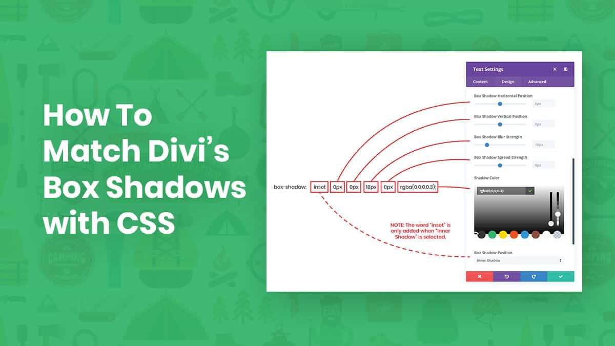 How To Match Divi Box Shadows with CSS