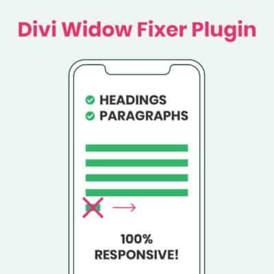 Divi Widow Fixer Documentation & Support