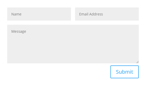 move the Divi contact form labels above the form fields before