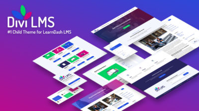 Divi LMS for LearnDash Child Theme by Pee-Aye Creative Product Featured Image