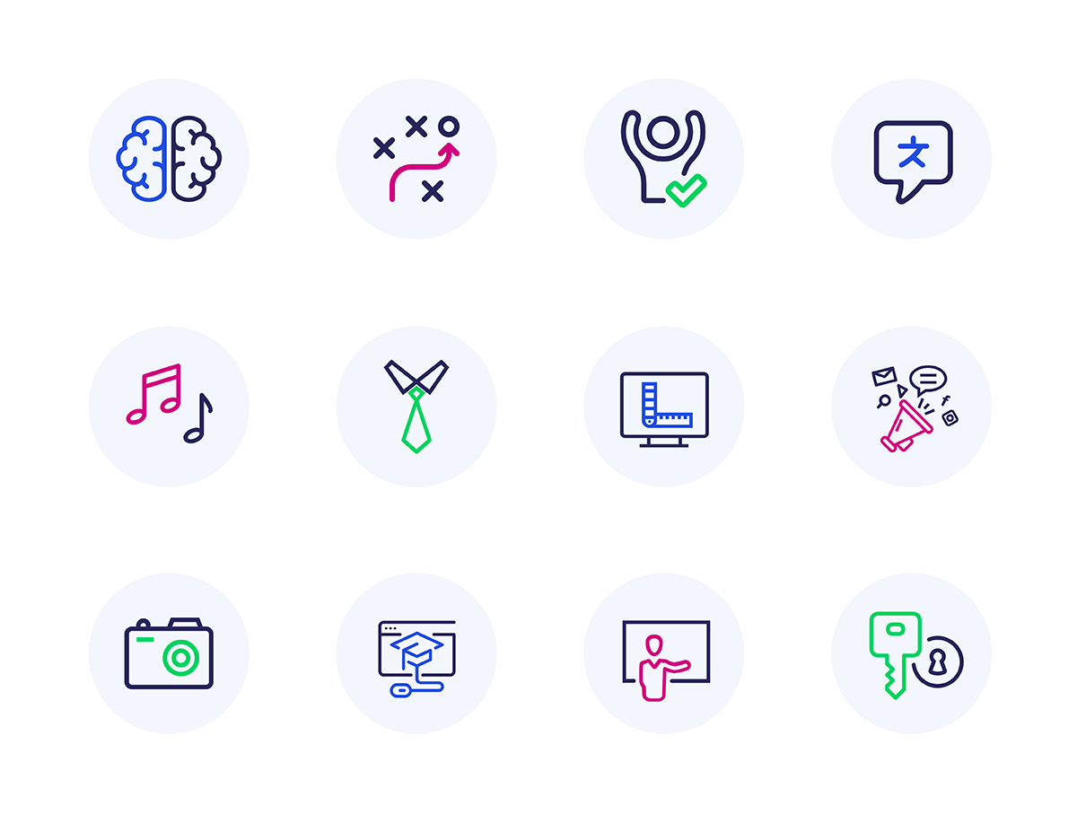 Divi LMS for LearnDash Custom Icons
