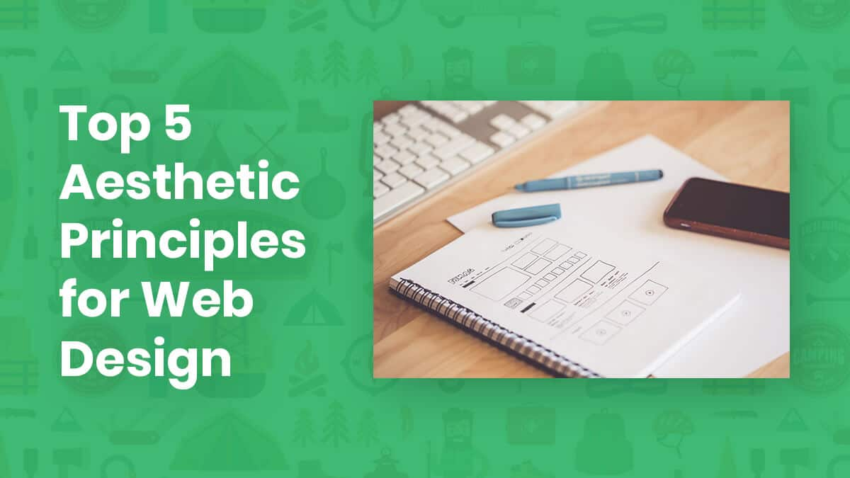 Top 5 Aesthetic Principles You Must Take Into Account When Designing a Website
