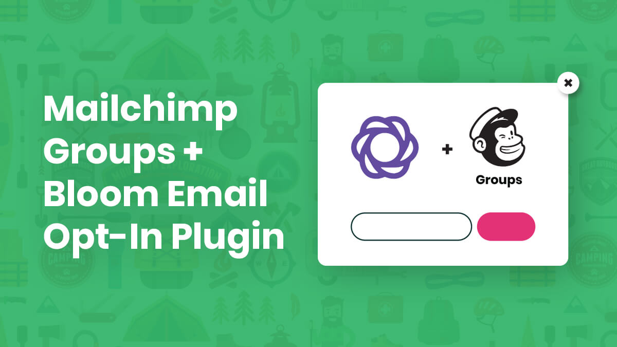 How To Add Mailchimp Groups To The Bloom Email Opt-In Plugin