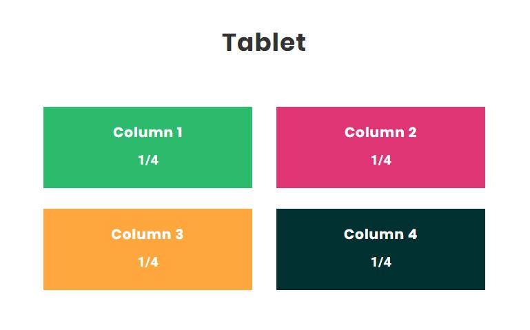 Divi Column Size On Tablet