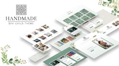 Divi Handmade Child Theme by Pee-Aye Creative