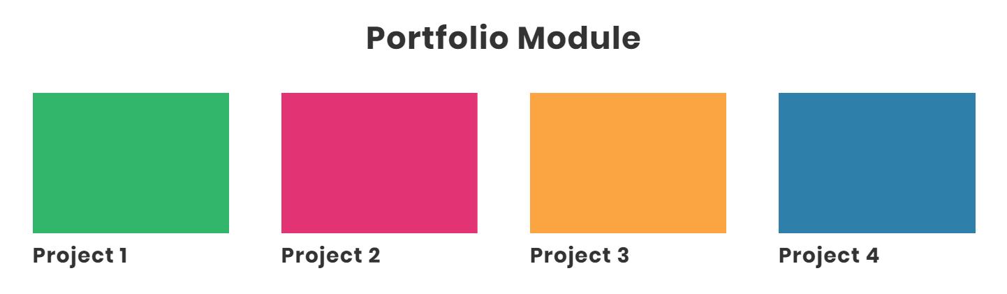 Divi portfolio module featured image crop