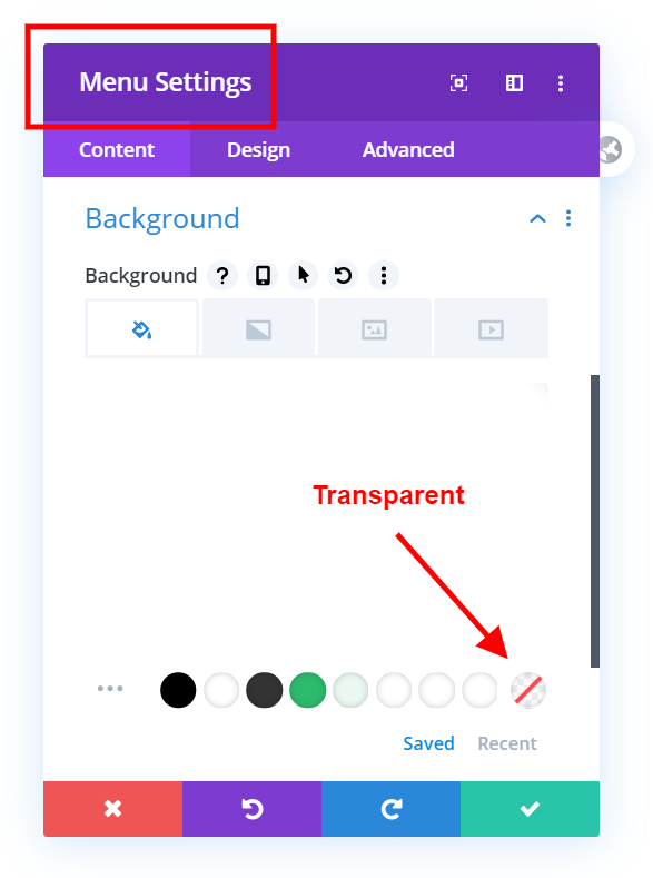 How To Create a Transparent Header in the Divi Theme Builder