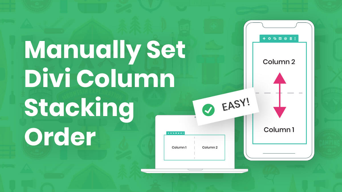 How To Control Divi Column Stacking Order on Mobile