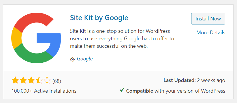 Install Google Site Kit with Divi