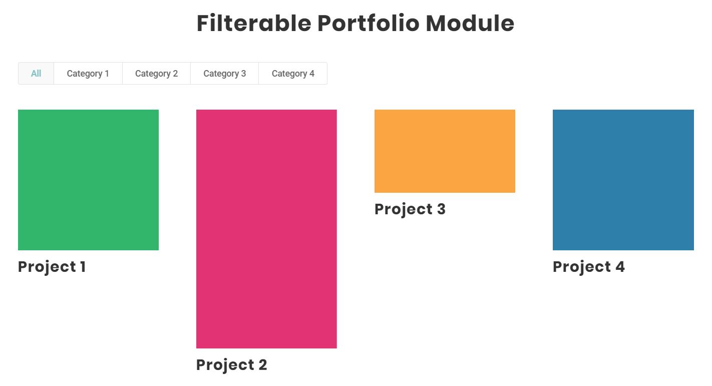 how to remove Divi filterable portfolio module featured image crop