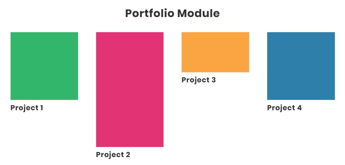 how to remove Divi portfolio module featured image crop
