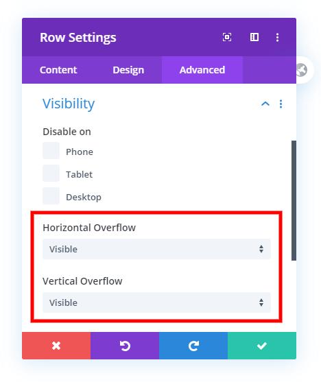 Fix hidden Divi dropdown menu