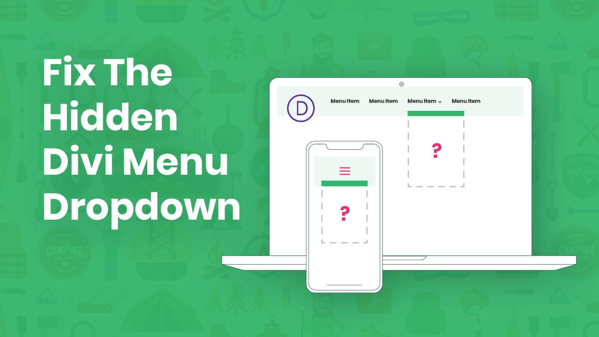 How To Fix The Hidden Divi Menu Module Dropdown In the Theme Builder Tutorial by Pee-Aye Creative