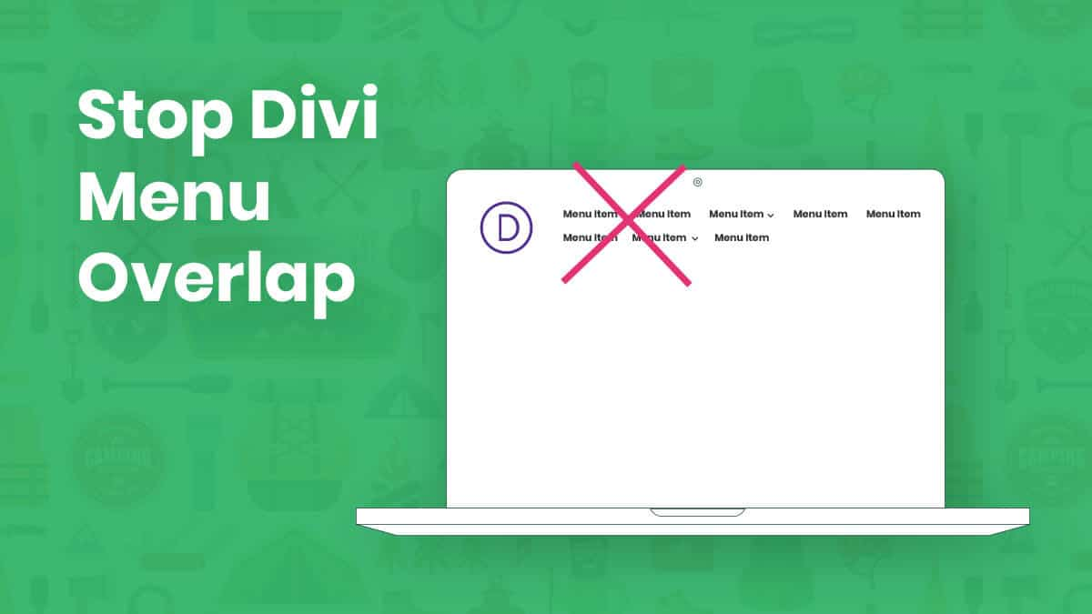 How To Keep The Divi Menu Module From Overlapping To Two Lines Tutorial by Pee-Aye Creative
