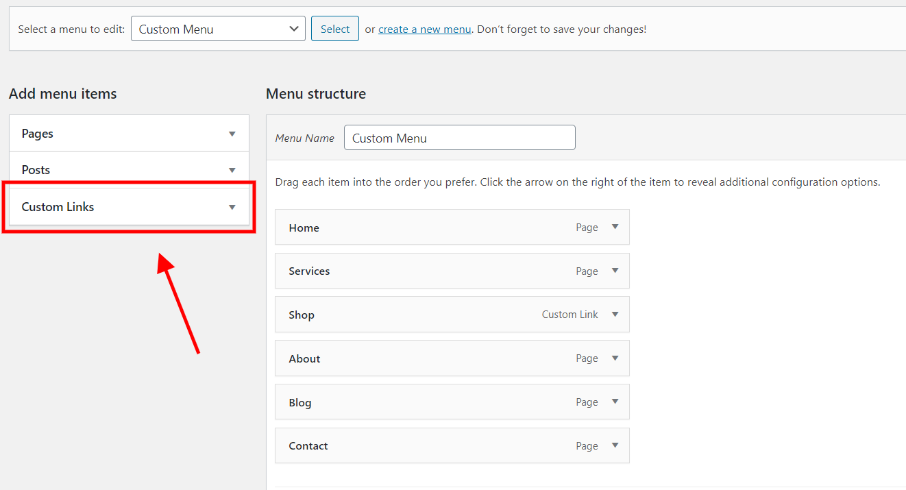 Add images to your Divi menu with custom links