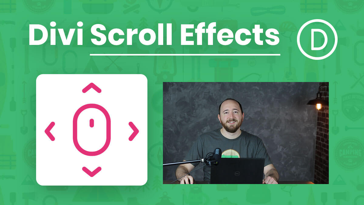 How To Use The new Divi Scroll Effects Motion Animations Tutorial by Pee-Aye Creative