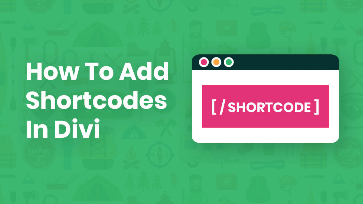 How To Add Shortcodes In Divi