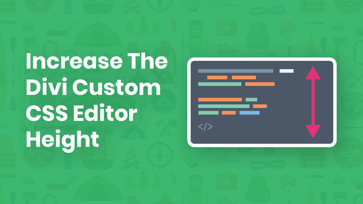 How To Increase The Height of The Divi Theme Options Custom CSS Editor Box