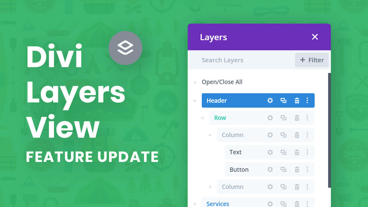 How To Use The Divi Layers View