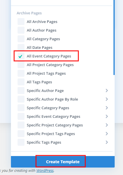 Assign-template-to-the-event-category-pages