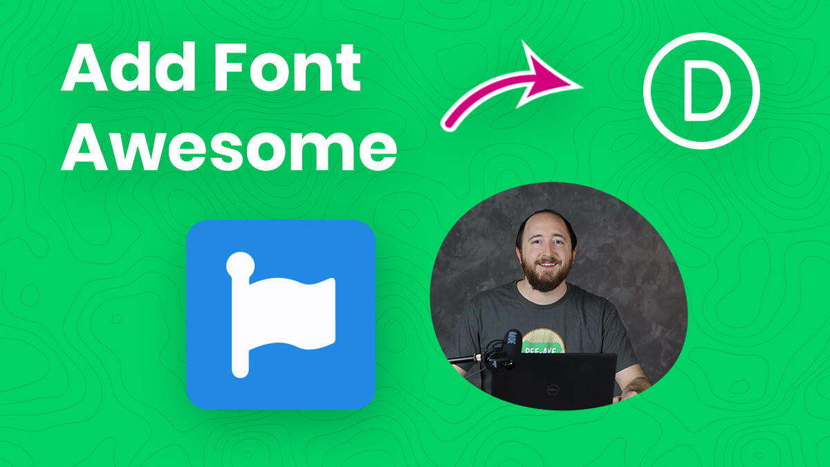 How To Connect And Add Font Awesome Icons To Divi Youtube Video Tutorial by Pee Aye Creative