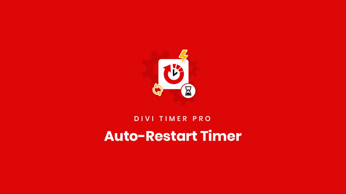 How To Use The Auto Restart Recurring Countdown Feature in the Divi Timer Pro Plugin by Pee Aye Creative
