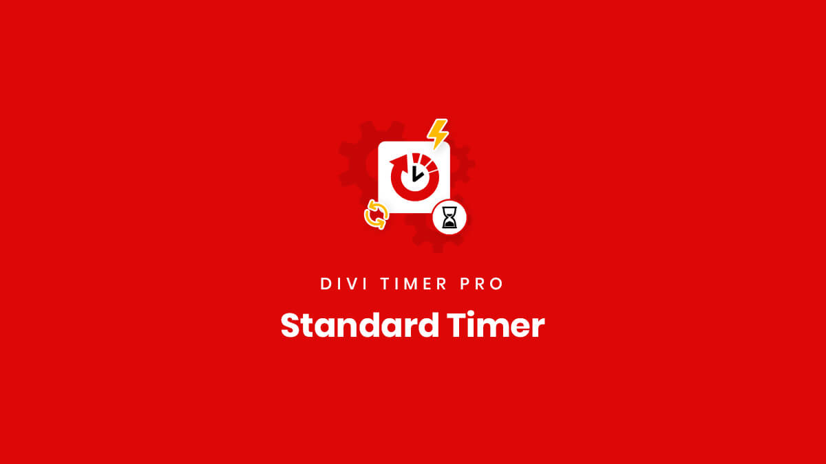 How To Use The Standard Countdown Feature in the Divi Timer Pro Plugin by Pee Aye Creative