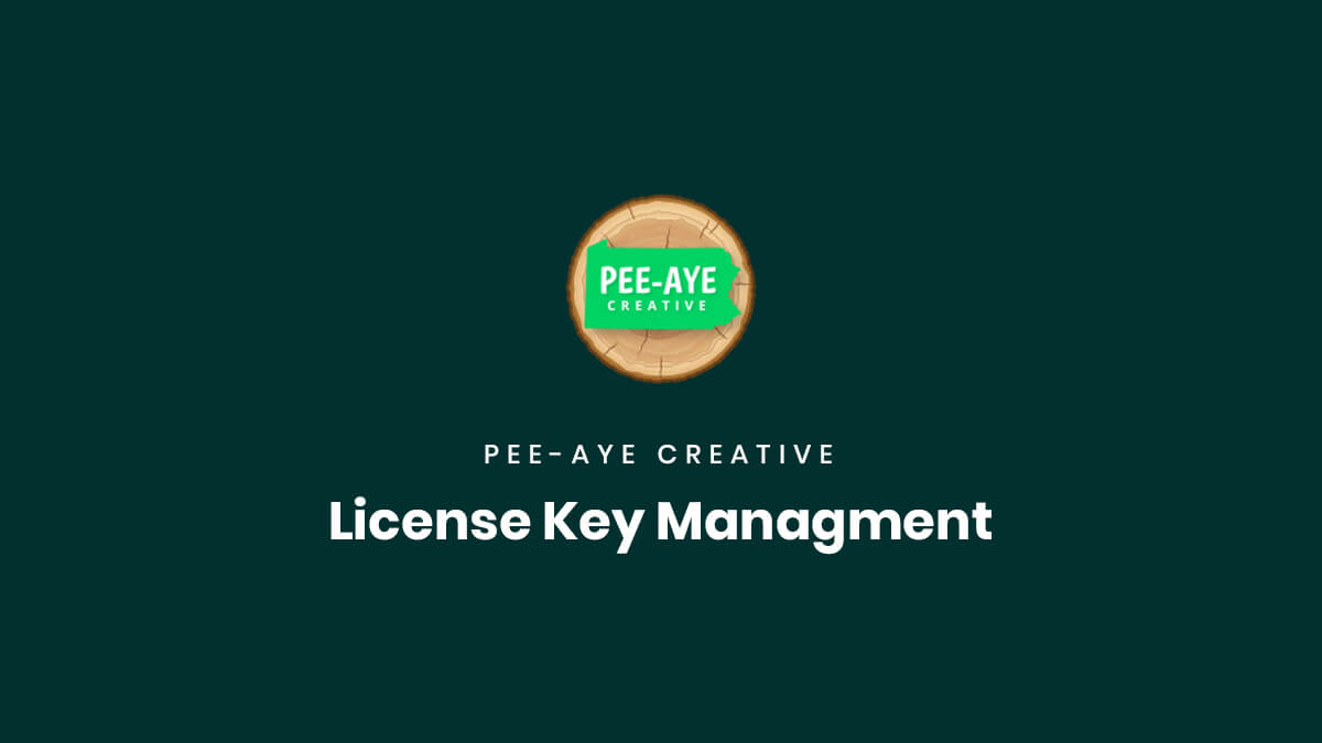 Product License Key Management