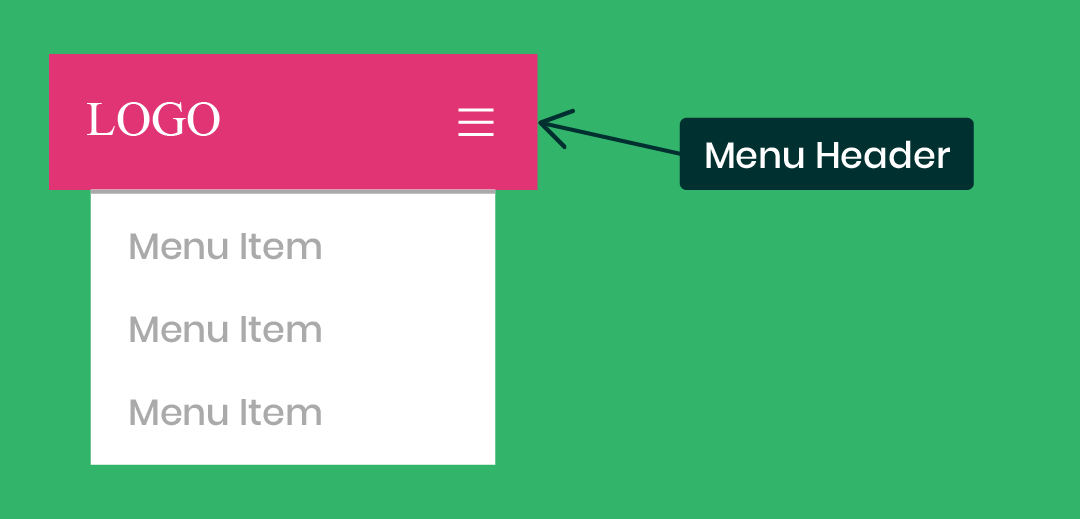 how to style and customize the Divi Theme Builder mobile menu module header