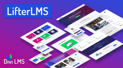 Divi LMS child theme for LifterLMS by Pee-Aye Creative Product Featured Image
