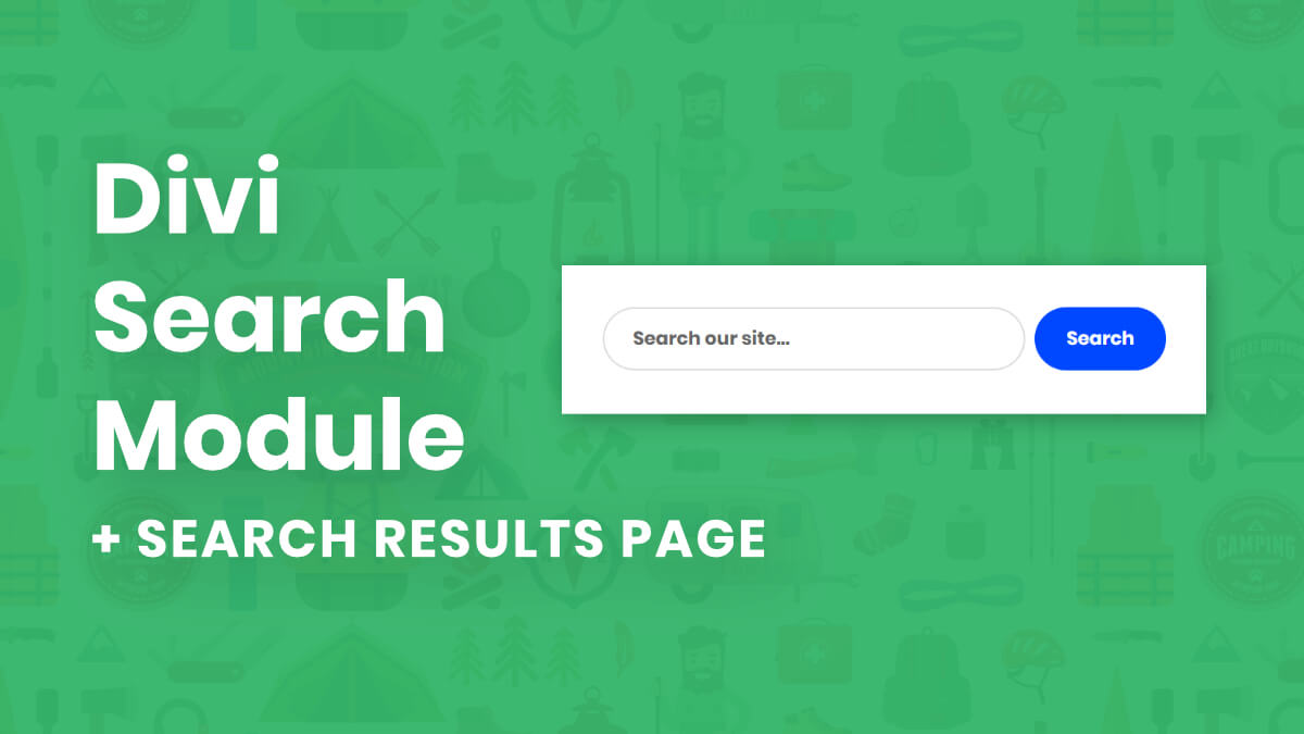 How To Customize And Style The Divi Search Module And Create A Search Results Page