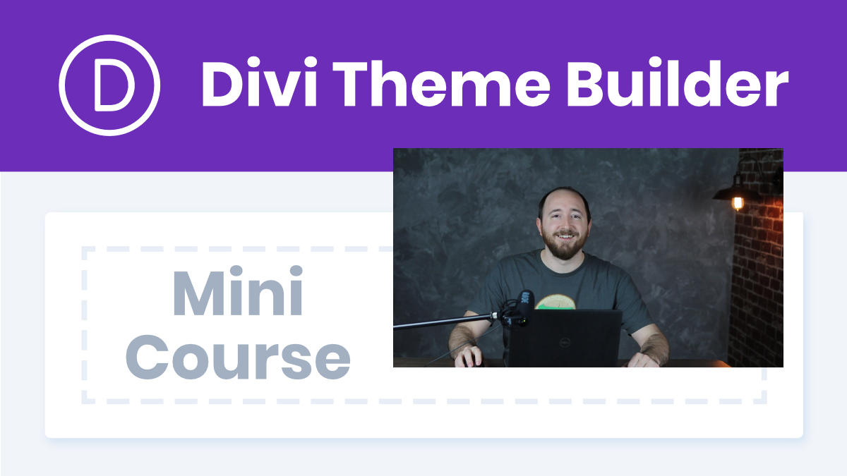 Divi Theme Builder Course YouTube Thumbnail