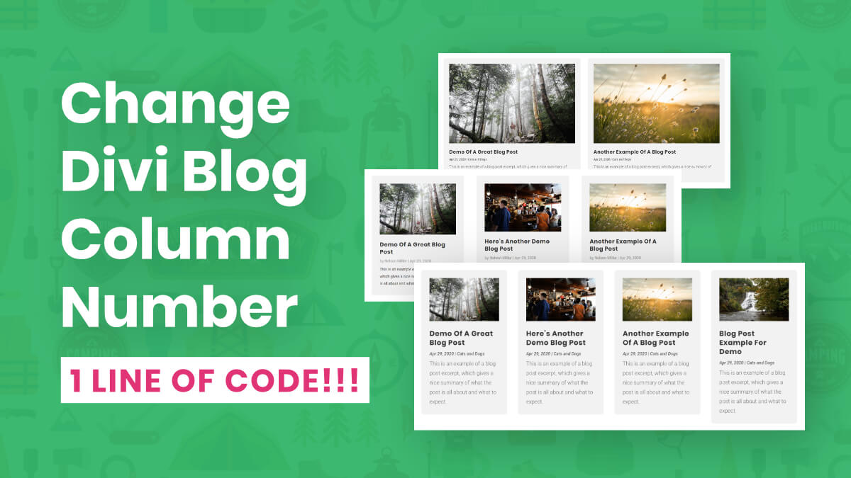 How To Change The Number Of Columns In The Divi Blog Module (Extremely Easy)