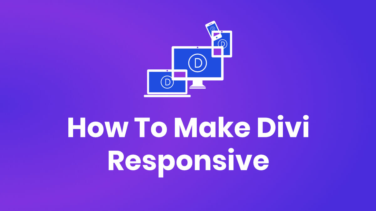 How To Make Divi Responsive Course by Pee Aye Creative