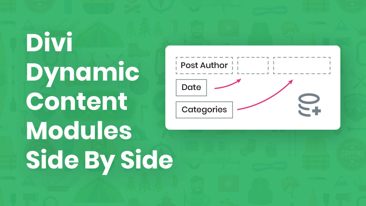 How To Place Multiple Dynamic Content Modules Side By Side