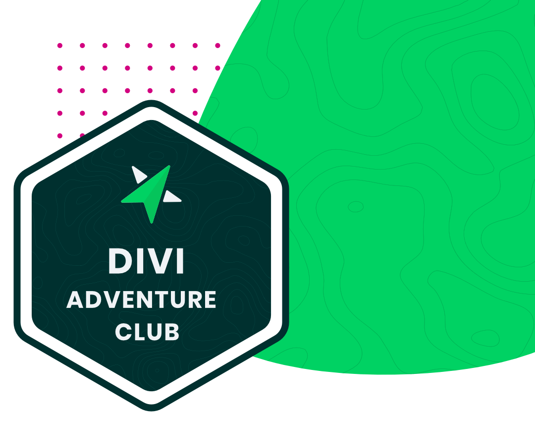 Pee Aye Creative Divi Adventure Club Membership